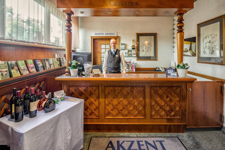 Отель Akzent Hotel Frankenbrunnen