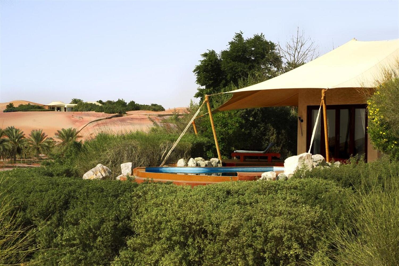 Отель Al Maha Desert Resort and Spa