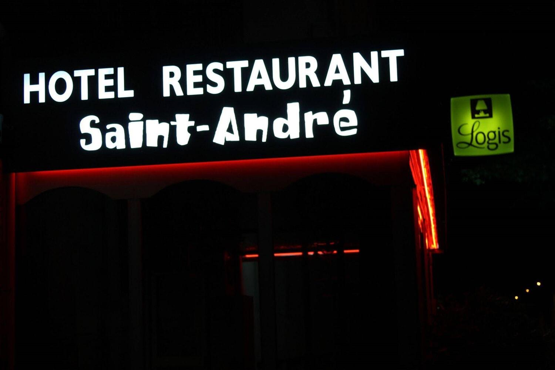 "Отель """"""HOTEL SAINT ANDRE REST. """"""""LE ZINC D'ANDRE"""""""""""""""