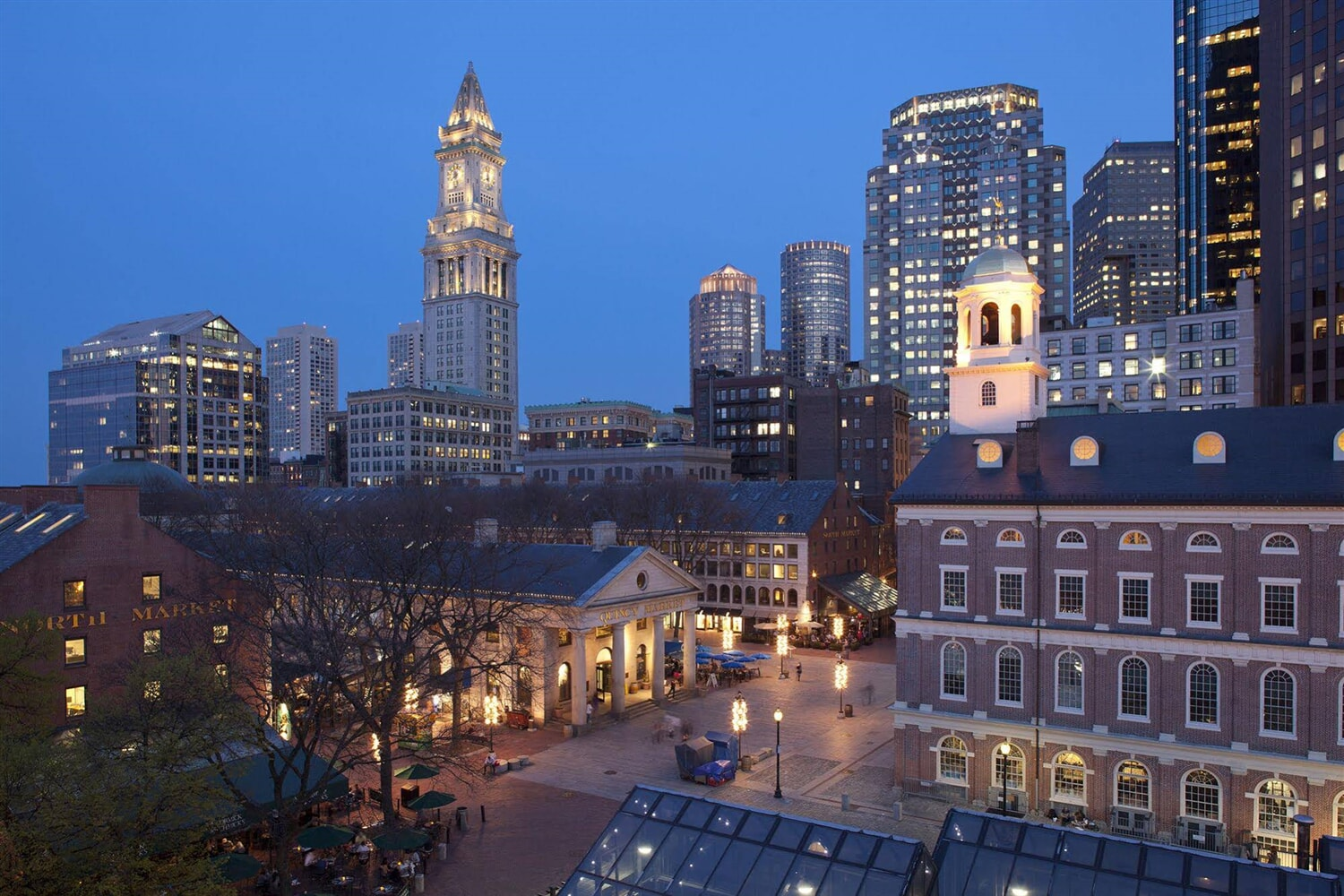 Отель  The Bostonian Boston