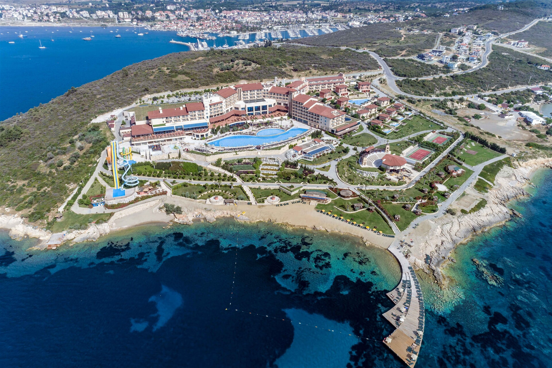 EUPHORIA AEGEAN RESORT AND THERMAL HOTEL – Standart Room Land View