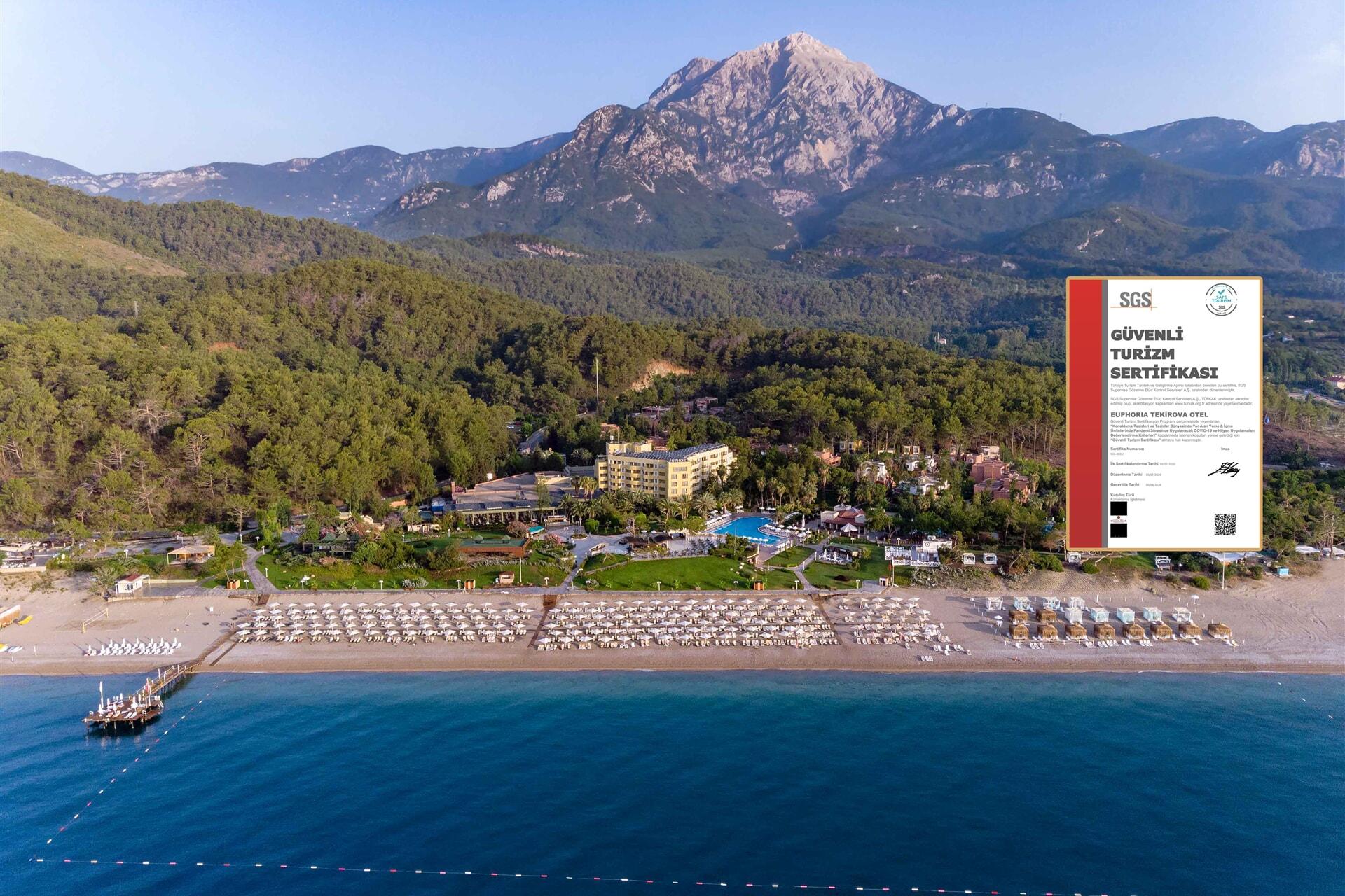 EUPHORIA TEKİROVA HOTEL – 5 Sterne Hotel und 1.Klasse Ferien Hotel