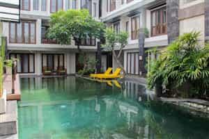 Отель Airy Legian Padma Kuta Bali