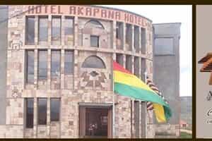 Отель Akapana