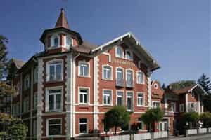 Отель AKZENT Hotel Johannisbad