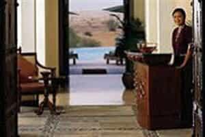 Отель AL MAHA DESERT RESORT