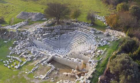 THE ANCIENT CITY OF TEOS TO SEE
