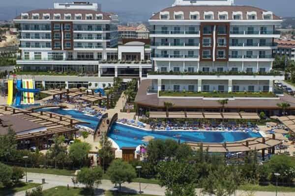 Отель Adalya Ocean Deluxe Hotel