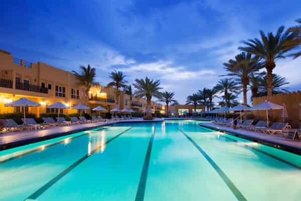 Отель Al Hamra Residence and Village Beach Resort
