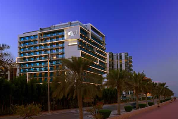 Отель Aloft Palm Jumeirah