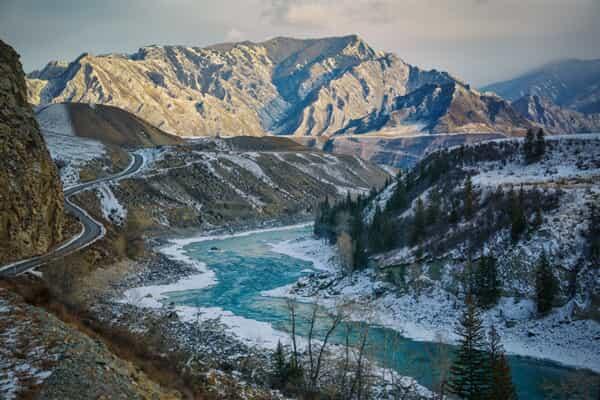 Отель Алтайская зима, 9 дней