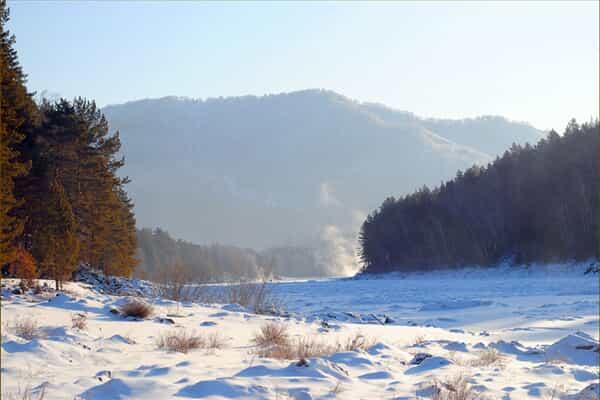 Отель Алтайская зима (экспресс), 5 дней