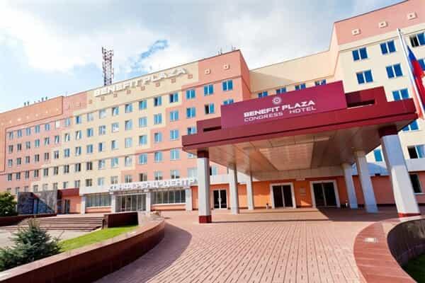 Отель Бенефит Плаза Конгресс Отель