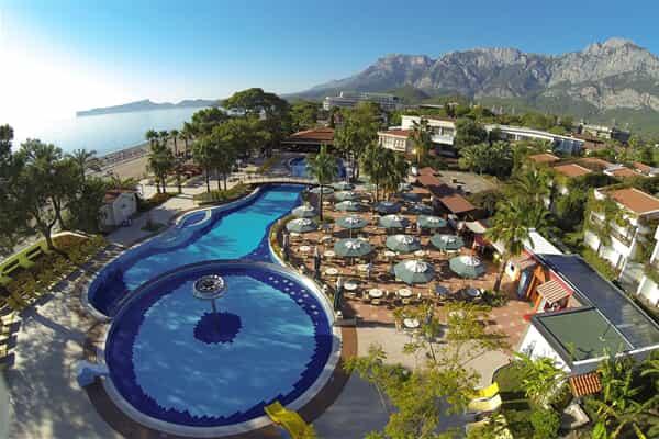 Отель Club Boran Mare Beach Kemer