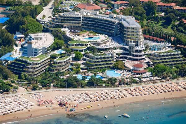 Отель Crystal Sunrise Queen Luxury Resort & Spa