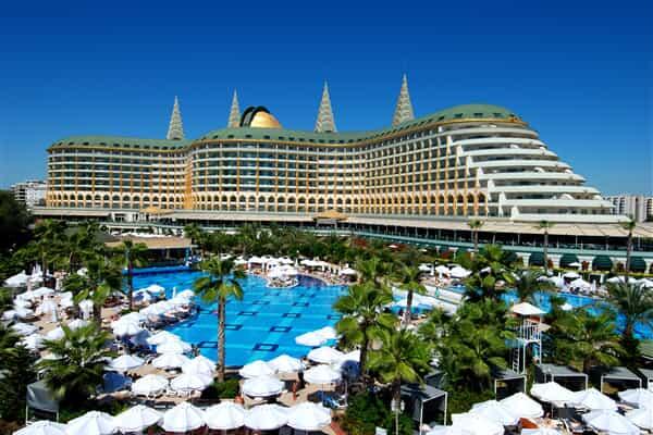 Отель Delphin Diva Hotel