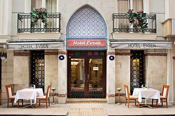 Отель Evsen Hotel