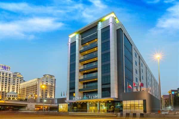 Отель Flora Al Barsha Hotel.