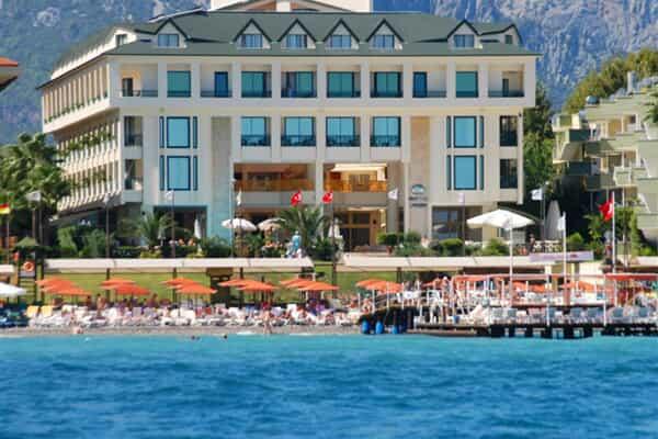 Отель Golden Lotus Hotel Kemer