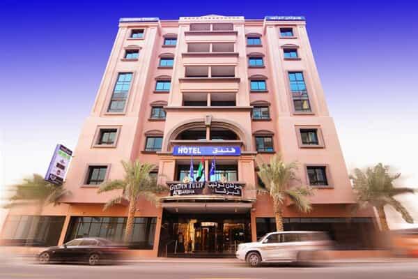 Отель Golden Tulip Al Barsha Hotel