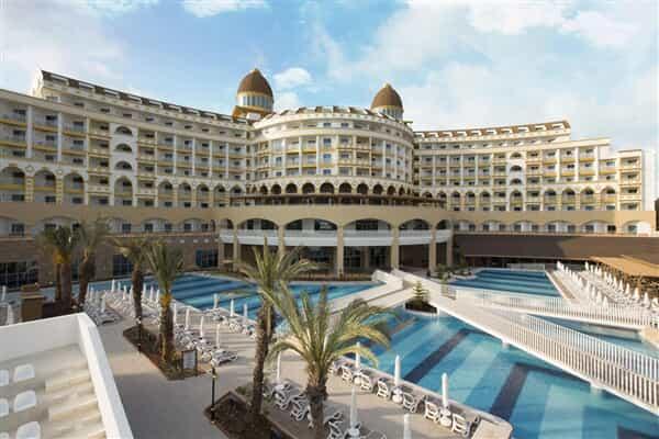 Отель Kirman Sidemarin Beach & Spa