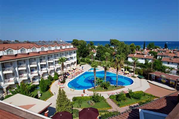 Отель Larissa Sultans Beach