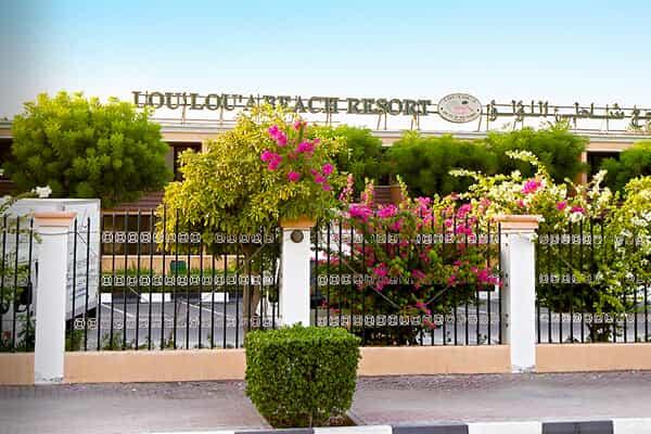 Отель Lou Lou a Beach Resort Sharjah