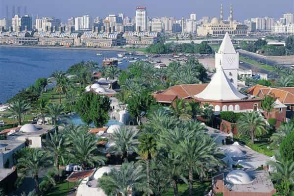 Отель Marbella Resort Sharjah.