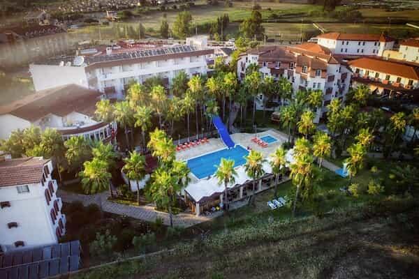 Отель Nergos Garden Hotel