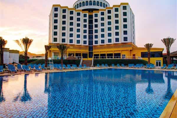 Отель Oceanic Khorfakkan Resort & Spa
