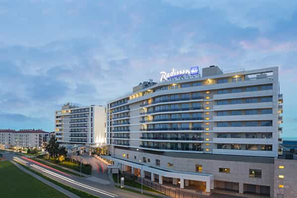Отель Radisson Blu Congress