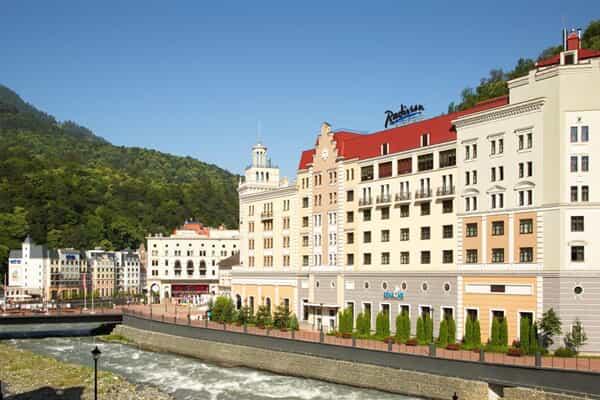 Отель Radisson Rosa Khutor