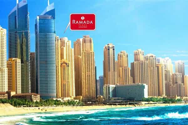Отель Ramada Plaza Jumeirah Beach Residence Hotel