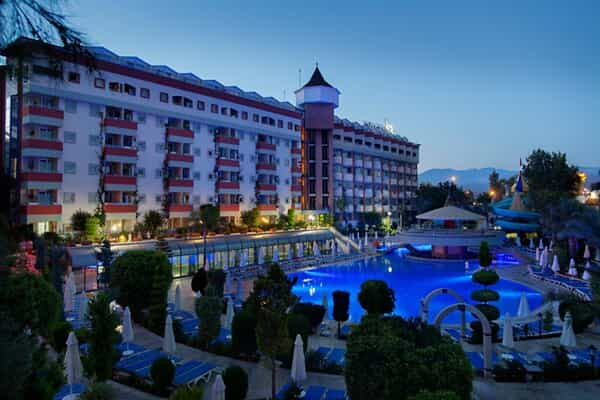 Отель Saphir Hotel Alanya