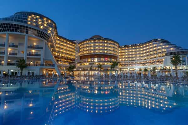 Отель Seaden Sea Planet Resort & Spa
