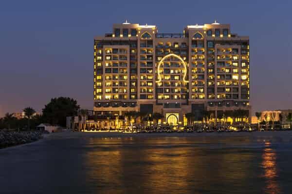 Отель The Ajman Saray, A Luxury Collection Resort.