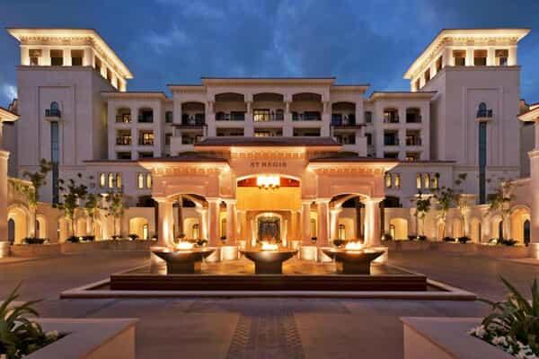 Отель The St. Regis Saadiyat Island Resort