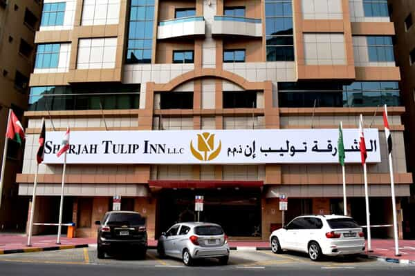 Отель Tulip Inn Hotel Apartment Sharjah