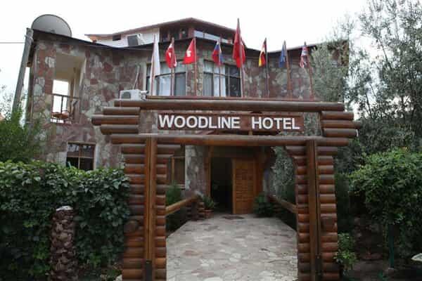 Отель Woodline Hotel Kemer