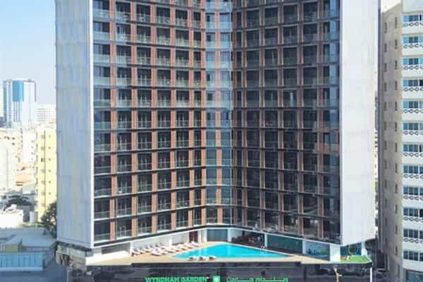 Отель Wyndham Garden Ajman Corniche