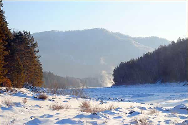 Отель Зимняя сказка на Алтае, 4 дня